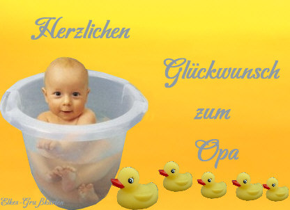 glückwunsch für baby